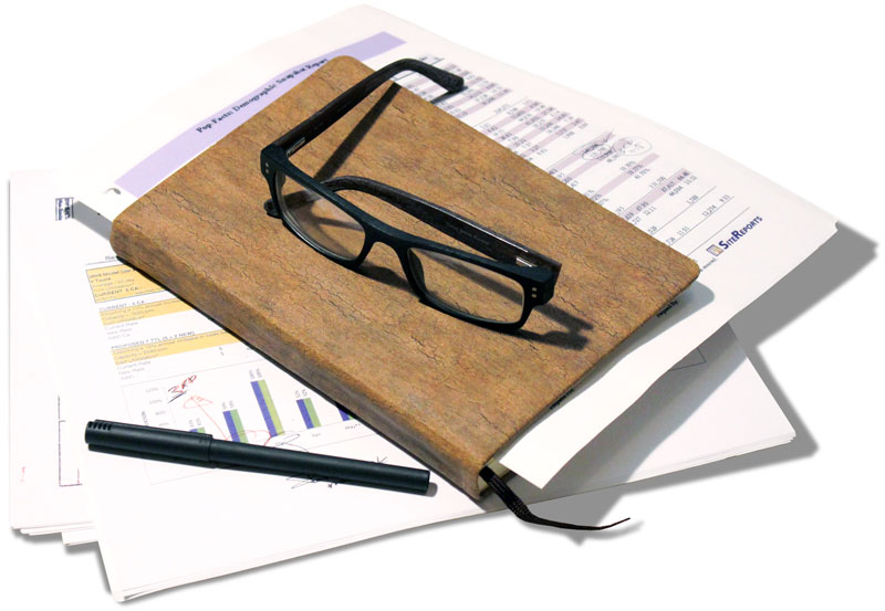 The book of scribbles, notes, words, and phrases. The content that has helped create success.